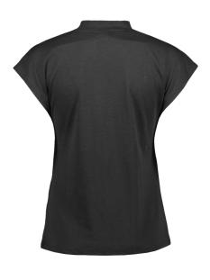 nmdenny s/s  high neck top 27011782 noisy may t-shirt black