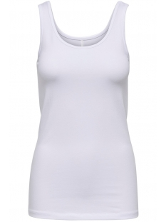 Only Top ONLLIVE LOVE TANK TOP NOOS 15095808 White