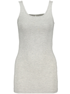 Only Top ONLLIVE LOVE LIFE S/L LONG TANK TOP 15060061 Light Grey Melange