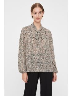 vmjosephine ls tie blouse vma 10222193 vero moda blouse brich/josephine