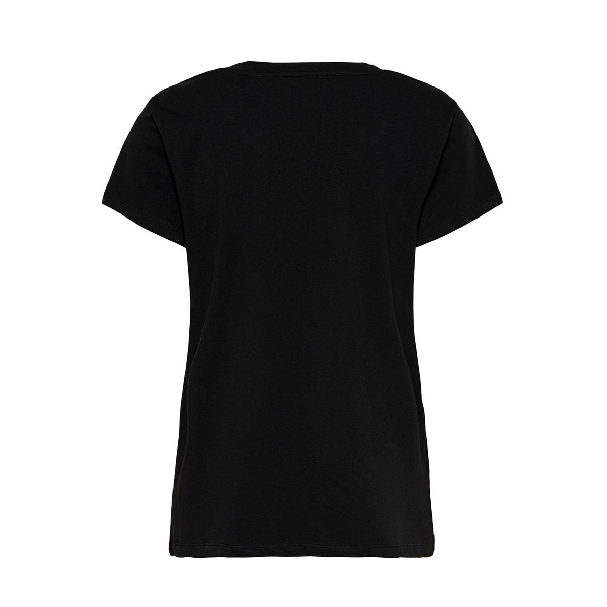 onlmarlyn s/s t-shirt jrs 15204633 only t-shirt black/paris