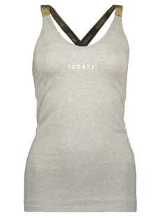 10 Days Top WRAPPER LUREX 71 717 9100 LIGHT GREY MELEE