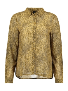 Vero Moda Blouse VMCAILEY FOLD UP L/S SHIRT EXP 10222765 Dull Gold/ALISIA-BL