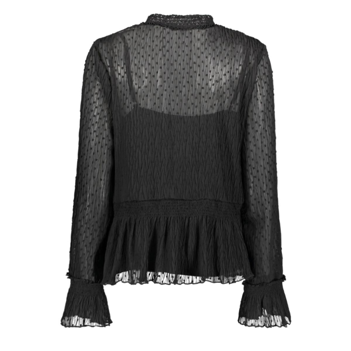 kiki ls fw19x610 harper & yve blouse black