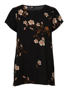 Vero Moda T-shirt VMCALLIE S/S BOCA TOP EXP 10224010 Black/CALLIE