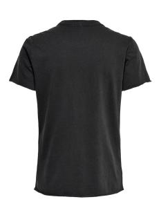 onllucy reg s/s bling box acid co j 15195830 only t-shirt black/thunder