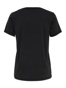 onlvivian reg s/s top box acid co j 15183271 only t-shirt black/darling gold