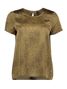 Vero Moda T-shirt VMCAILEY S/S TOP EXP 10222767 Dull Gold/ALISA