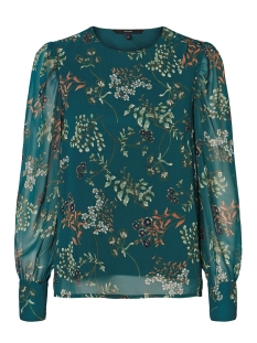 Vero Moda Blouse VMJULIE LS TOP WVN 10225604 Atlantic Deep/AOP JULIE