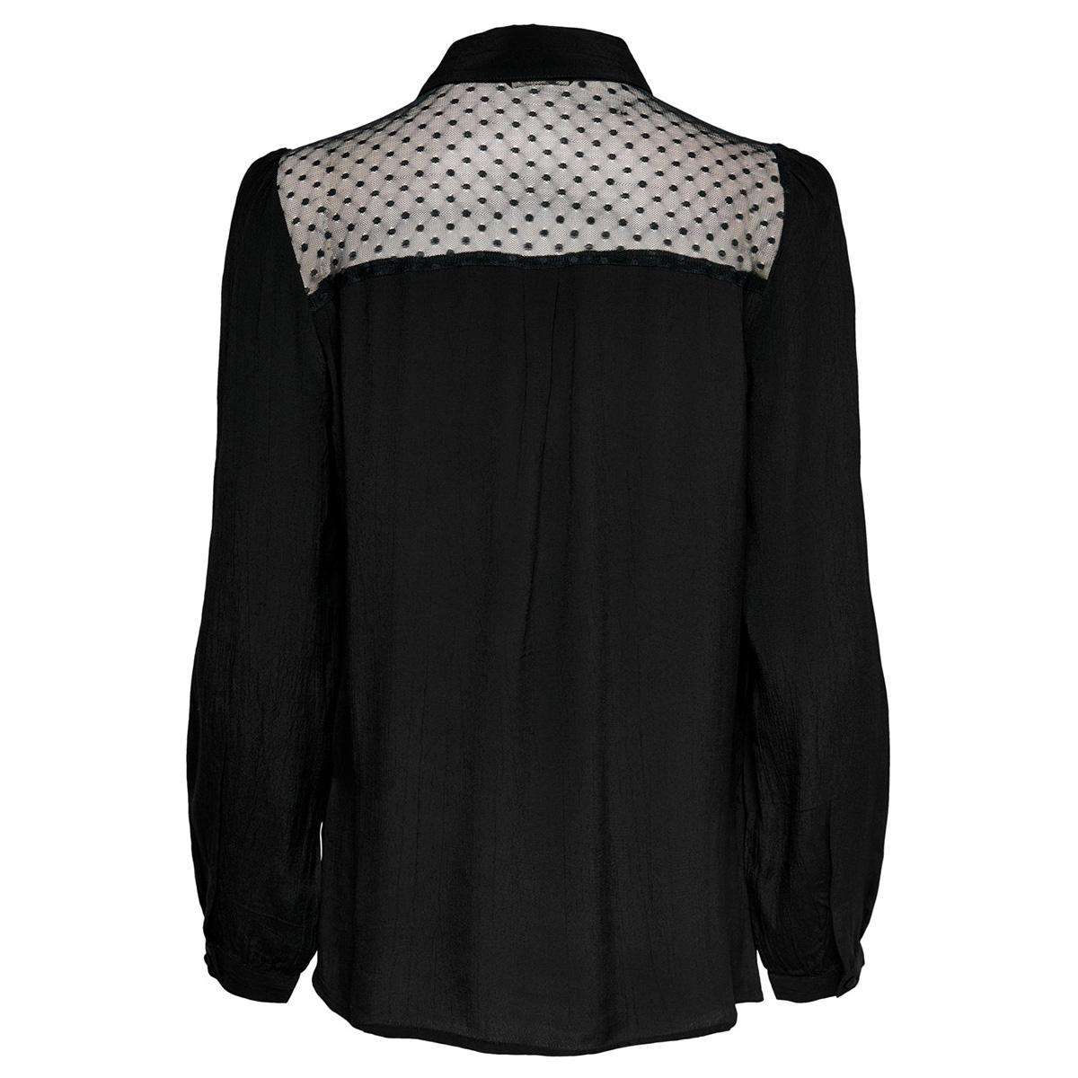 onldoris l/s top wvn 15192234 only blouse black
