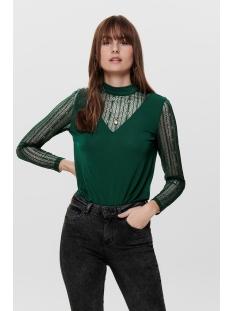 Jacqueline de Yong T-shirt JDYKIA L/S TOP JRS 15185967 Botanical Garden/DTM LACE