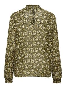 onlkiara l/s chiffon highneck top w 15205747 only blouse kalamata/paisley