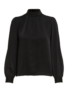 Only Blouse ONLNAOMI HIGH NECK  L/S TOP WVN 15191267 Black
