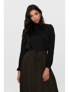 onlnaomi high neck  l/s top wvn 15191267 only blouse black