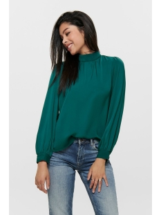 onlnaomi high neck  l/s top wvn 15191267 only blouse shaded spruce
