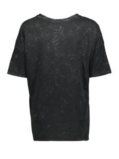 nmida romance s/s top fd 27012172 noisy may t-shirt black/wash and pri