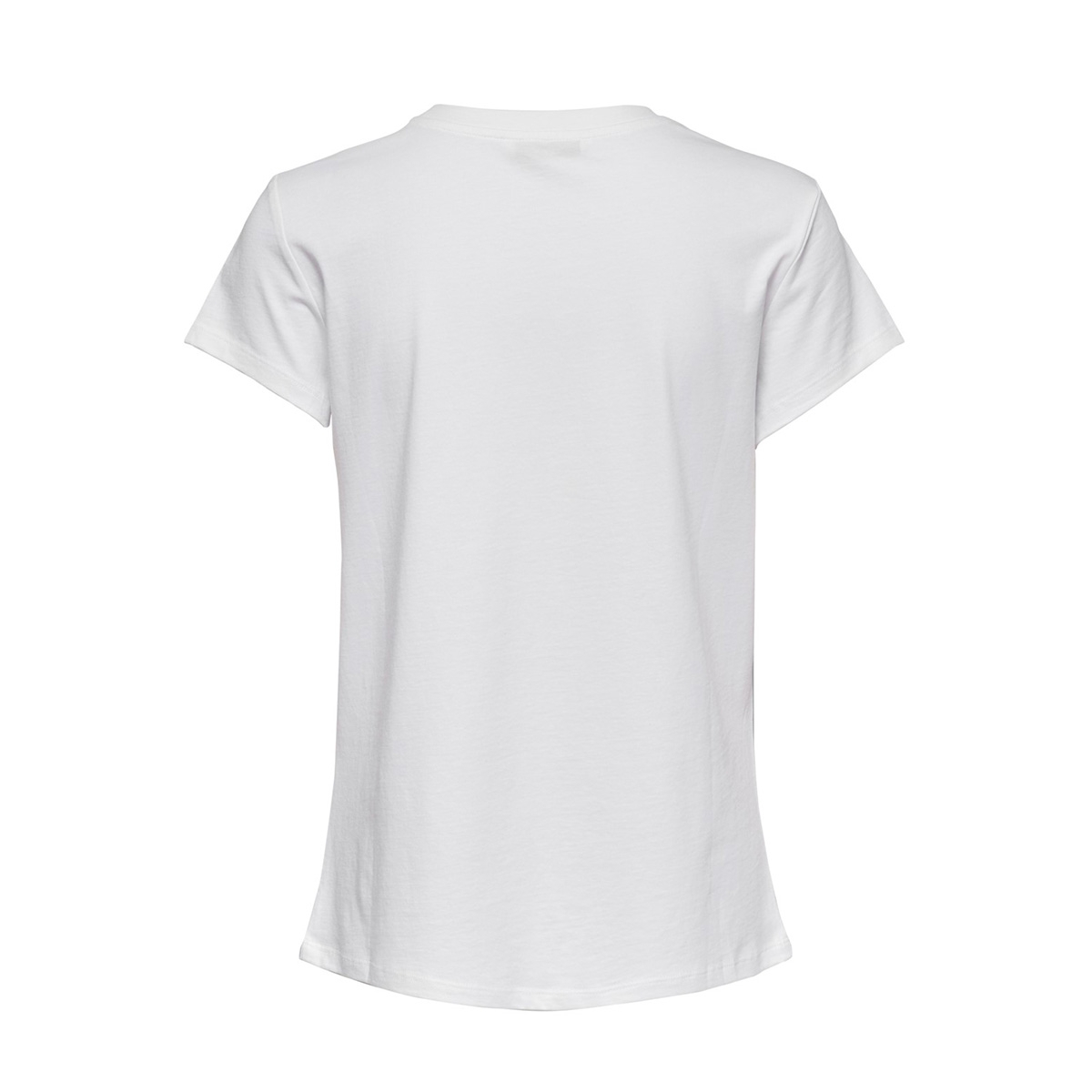 onlsally una s/s t-shirt jrs 15207951 only t-shirt white/lips