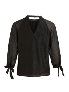 vibetani 3/4 top 14054881 vila blouse black
