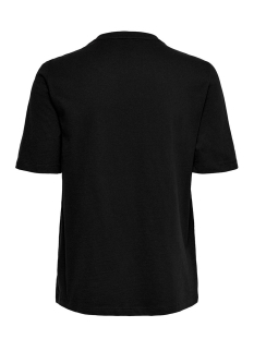 onlmary reg s/s top box jrs 15201238 only t-shirt black/please