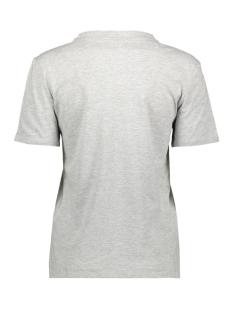 jdyanima life s/s top jrs 15193175 jacqueline de yong t-shirt light grey melange/aha