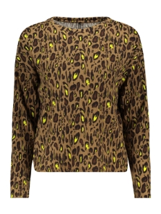 Only Trui ONLLEA L/S TOP JRS 15193156 Toasted Coconut/COOL LEO 1