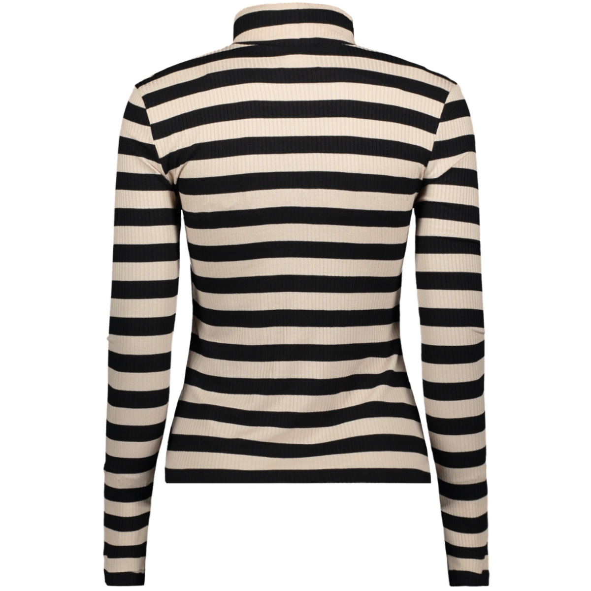 nmtanya l/s top 27009870 noisy may t-shirt peyote/black