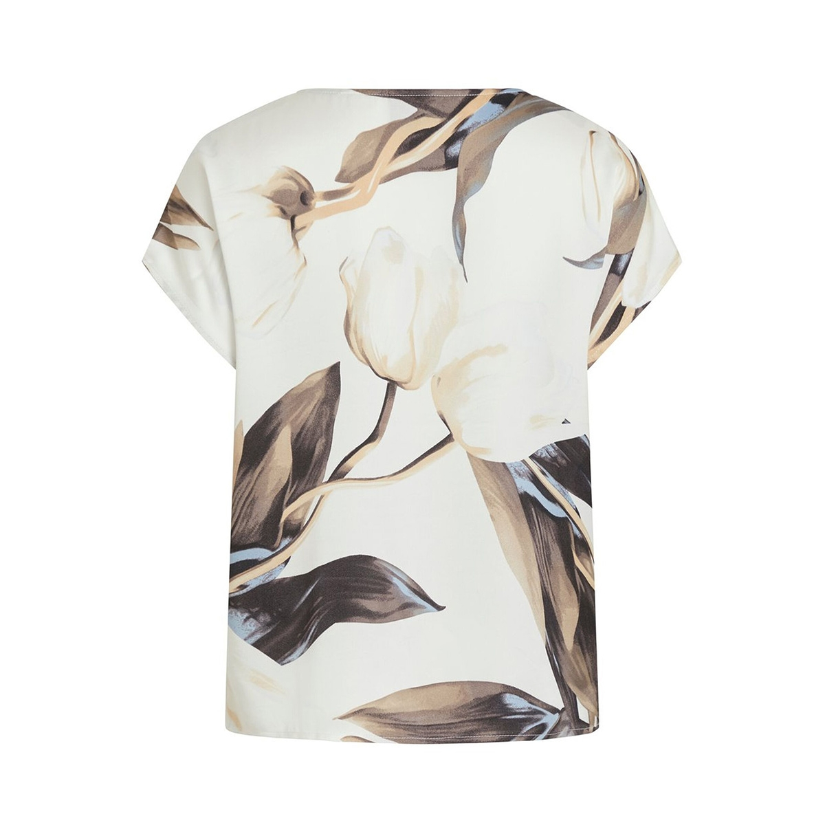 objpania urban s/s top pb7 23032300 object t-shirt gardenia/gardenia tulip