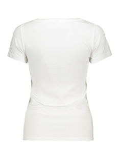 onlroar s/s top jrs 15184236 only t-shirt bright white/check