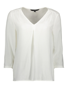 VMEVA 3/4 V-NECK TOP GA COLOR 10228463 Snow White