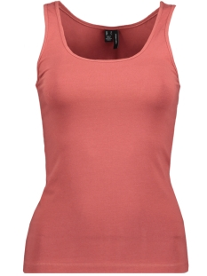 Vero Moda Top VMMAXI MY SOFT SHORT TANK TOP GA COLOR 10228808 Marsala
