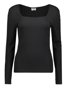 nmmonica l/s top bg 27010549 noisy may t-shirt black