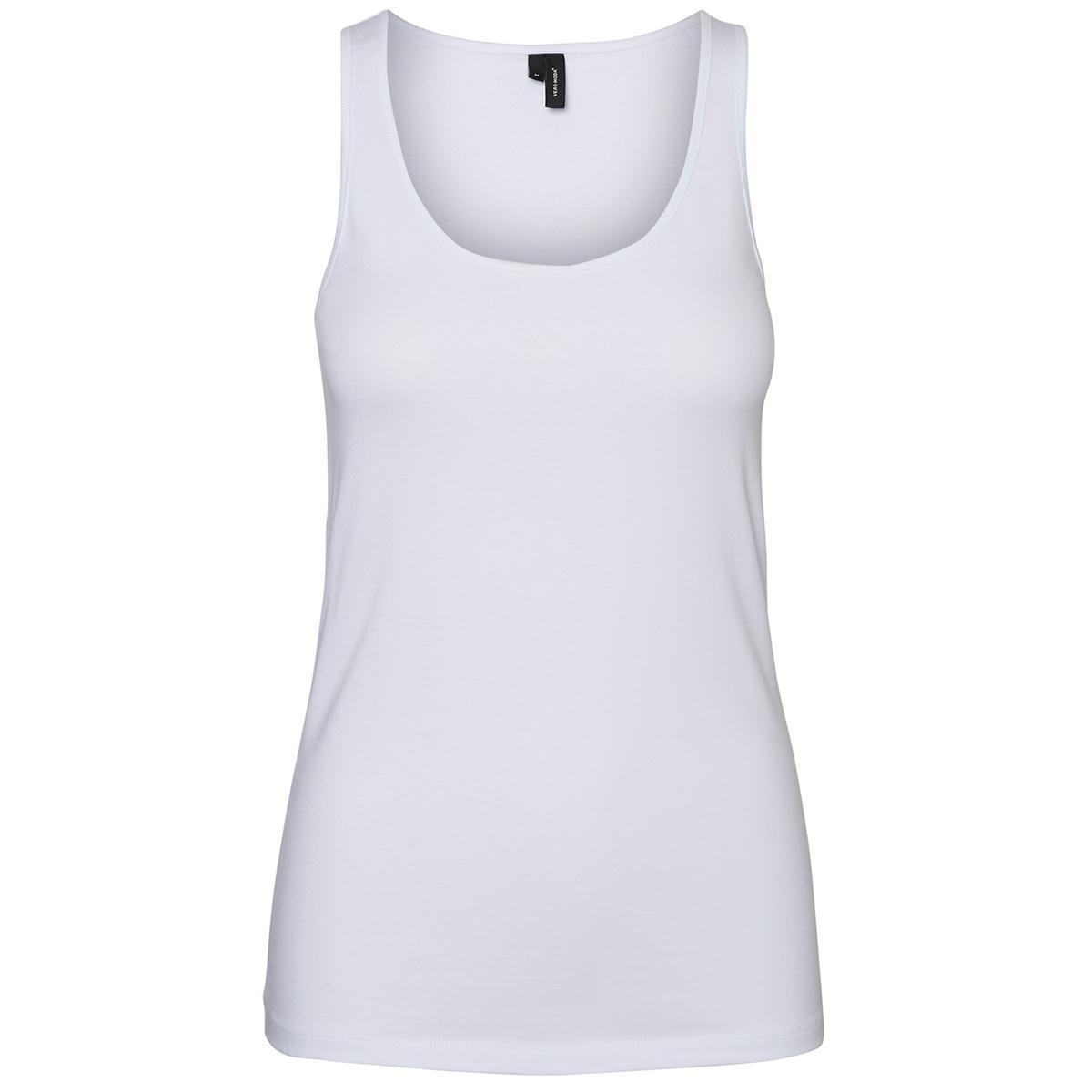 vmmaxi my soft  short tank top ga noos 10228807 vero moda top bright white