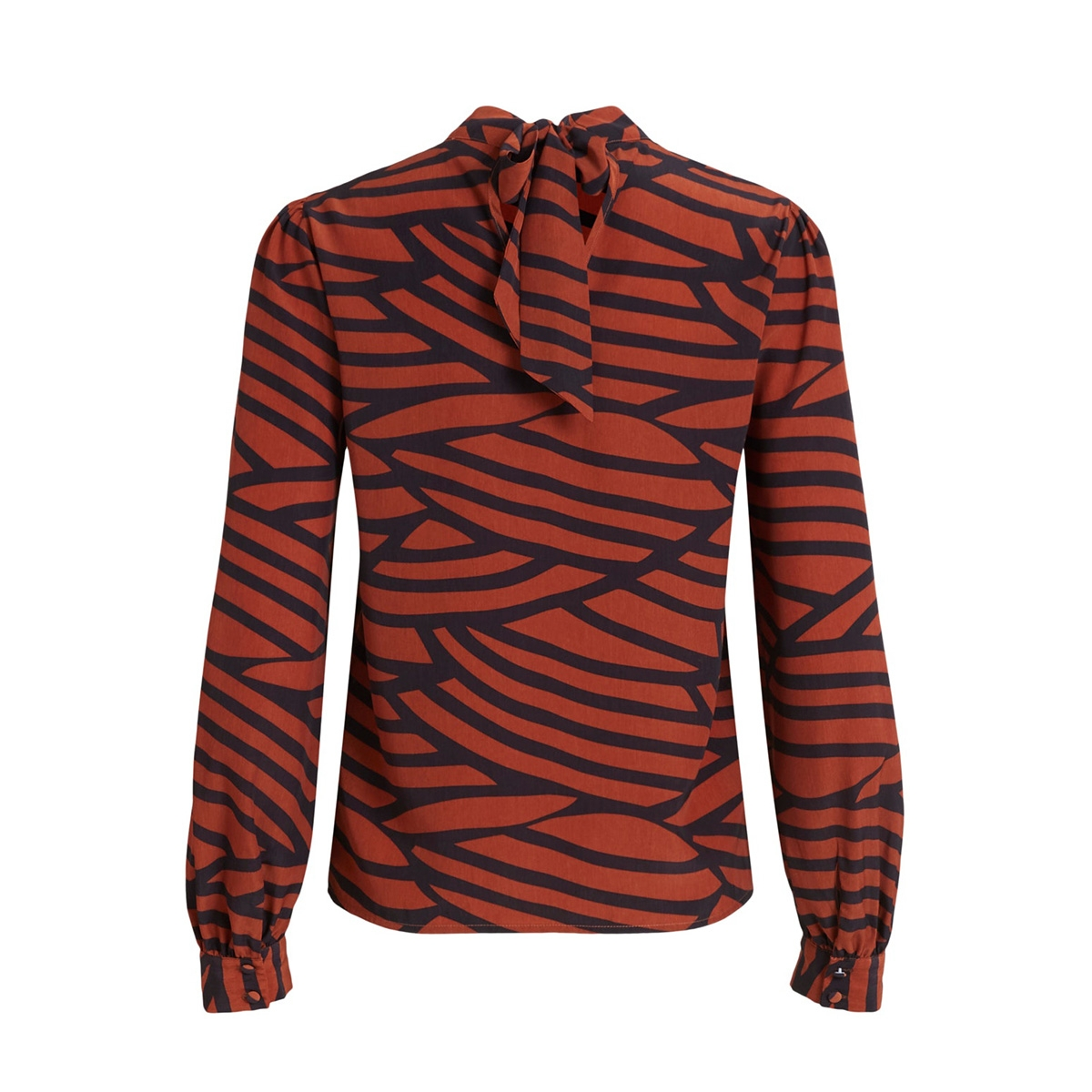 vimullan l/s top /rx 14059342 vila blouse black/stripes