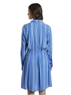 gestreepte mini blouse jurk 1017036xx71 tom tailor jurk 21580