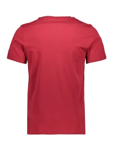 jjelogo tee ss o-neck 2 col ss20 noos 12164848 jack & jones t-shirt rio red/slim