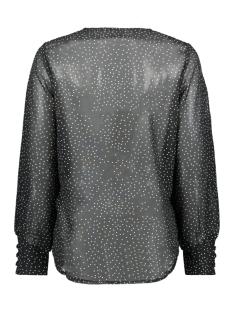 onlbeatrice life l/s v-neck top wvn 15196249 only blouse black/w. cloud dancer