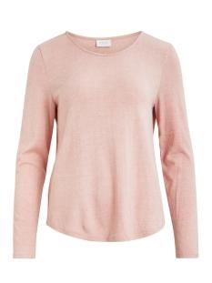 Vila T-shirt VILAX L/S TOP/1 14057588 Pale Mauve/MELANGE
