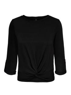 Only T-shirt ONLTINNA 3/4 TOP JRS 15190940 Black