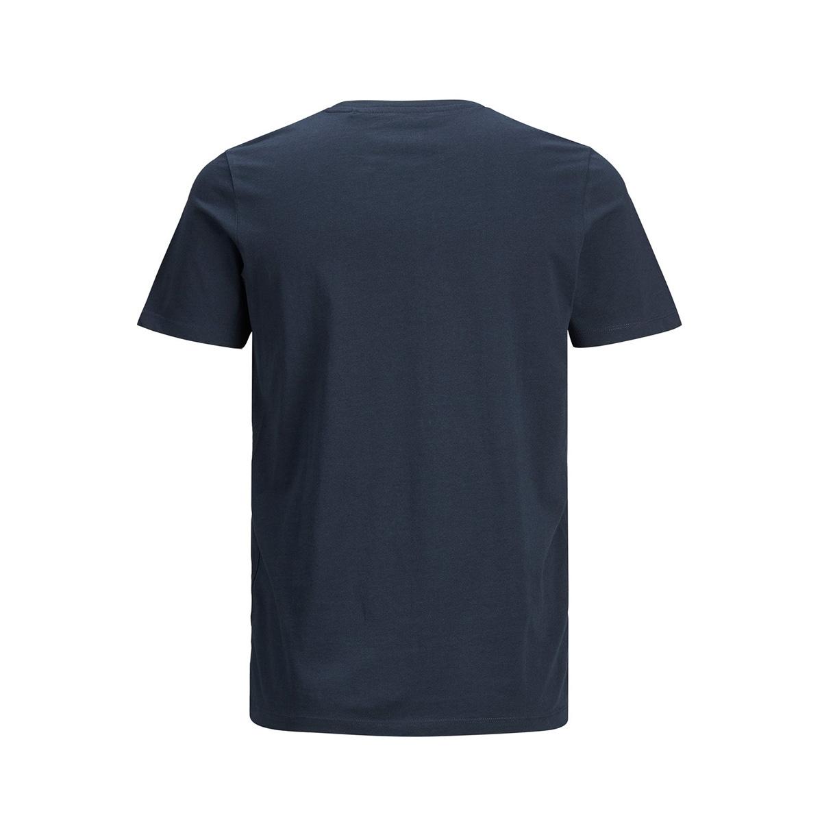 jjelogo tee ss o-neck 2 col ss20 no 12164848 jack & jones t-shirt navy blazer/slim