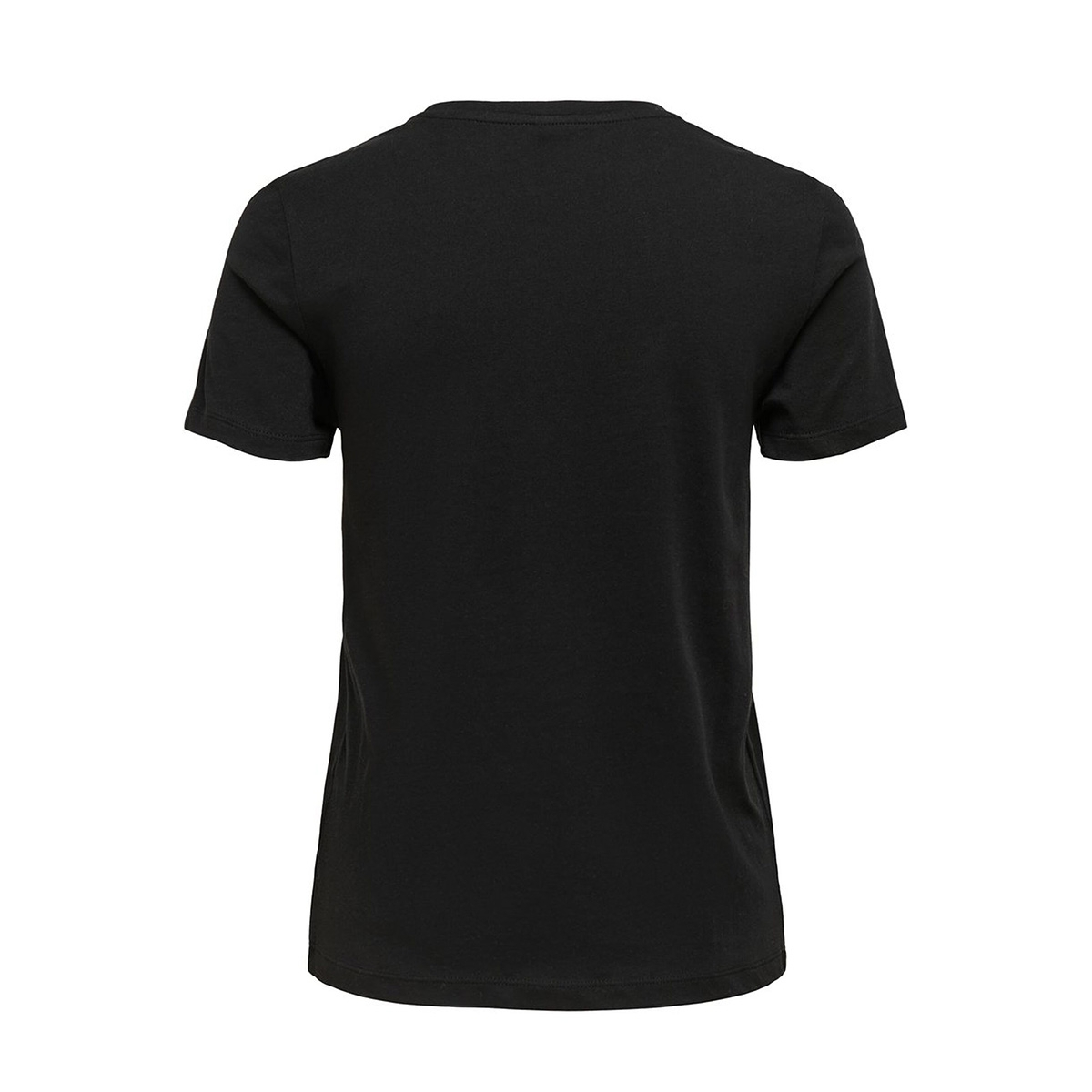 onlkita life reg s/s bee top box co 15199830 only t-shirt black/happy