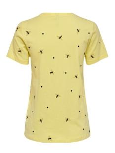 onlkita life reg s/s bee top box co 15199830 only t-shirt pineapple/bees
