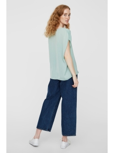 vmsussi ss top vmc 10224627 vero moda t-shirt granite green