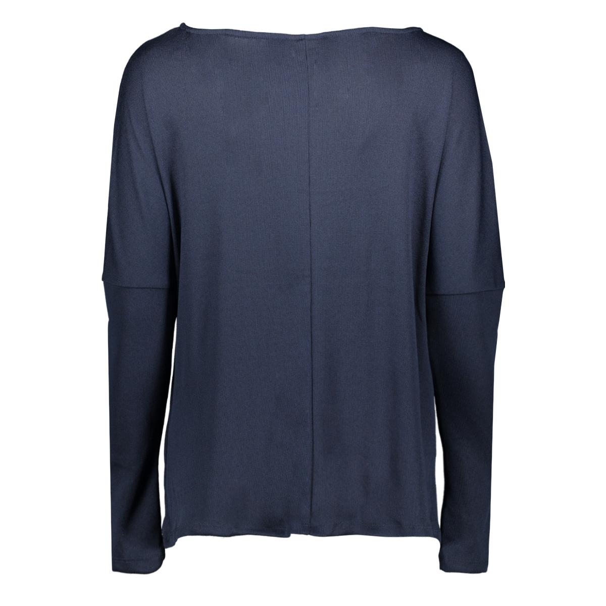 vinamina l/s t-shirt/1 14058747 vila trui navy blazer
