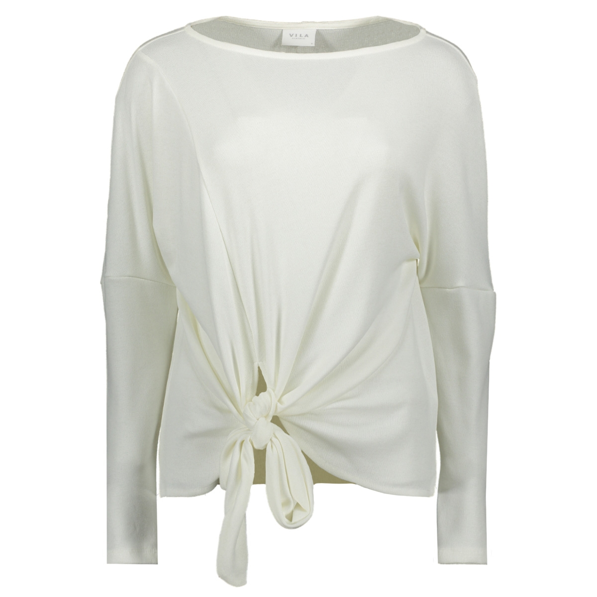 vinamina l/s t-shirt/1 14058747 vila trui cloud dancer