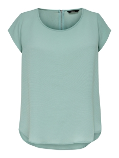 Only T-shirt ONLVIC S/S SOLID TOP NOOS WVN 15142784 Chinios Green