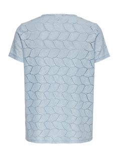 jdytag s/s lace top jrs rpt2 noos 15152331 jacqueline de yong t-shirt cashmere blue