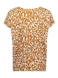 objbay s/s urban top aop seasonal 23028784 object t-shirt suger almond/white