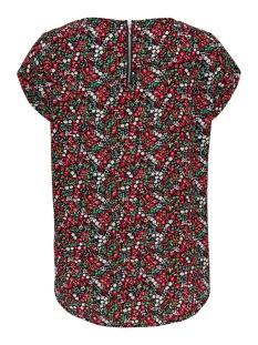 onlvic ss aop top noos wvn 15161116 only t-shirt black/neon summe