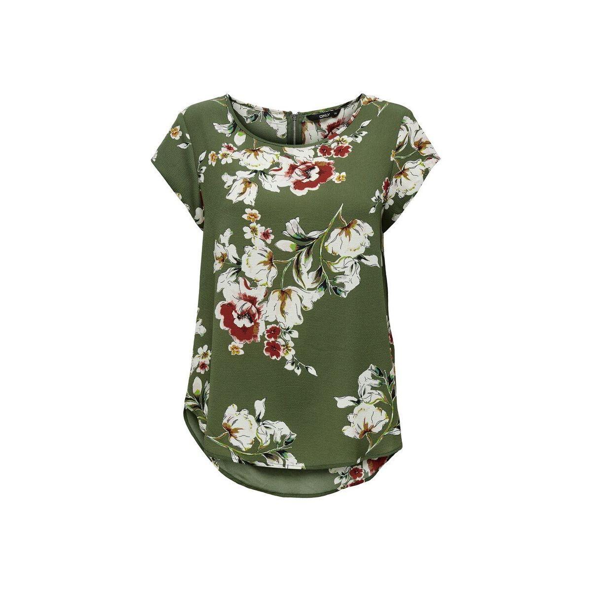 onlvic ss aop top noos wvn 15161116 only t-shirt kalamata/ditte flow