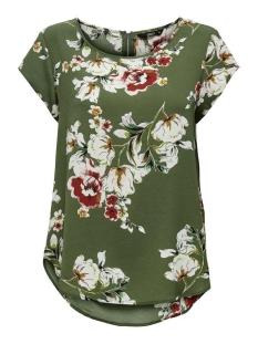 Only T-shirt onlVIC SS AOP TOP NOOS WVN 15161116 Kalamata/DITTE FLOW